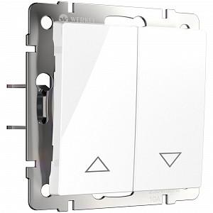 Выключатель для жалюзи WL08 WL01-01-02 (белый)