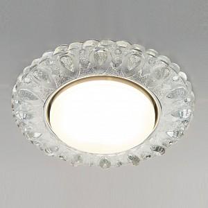 Встраиваемый светильник 3026 3026 GX53 CL прозрачный