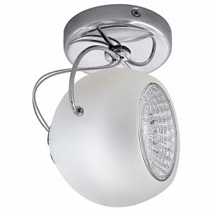 Спот поворотный Occhio Fabi, 1 лампы GU10 по 50 Вт., 2.3 м², цвет неокрашенный глянцевый