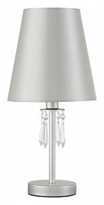 Настольная лампа декоративная RENATA LG1 SILVER