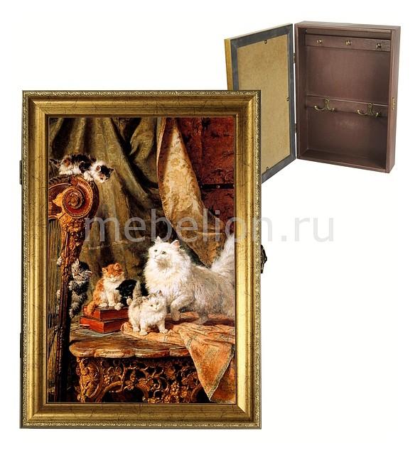 Ключница Акита (24х34 см) Кошки 312-9 yoursfs золотой 9