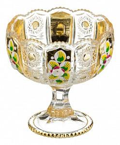 Чаша декоративная (12.5х13 см) Gold Glass 195-109