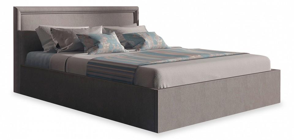 Кровать двуспальная с матрасом и подъемным механизмом Bergamo 160-200