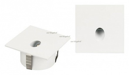 Встраиваемый светильник LT-GAP-S70x70-3W Warm3000 (WH, 30 deg) 025738