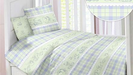 Детский комплект постельного белья Ретро Игрушки