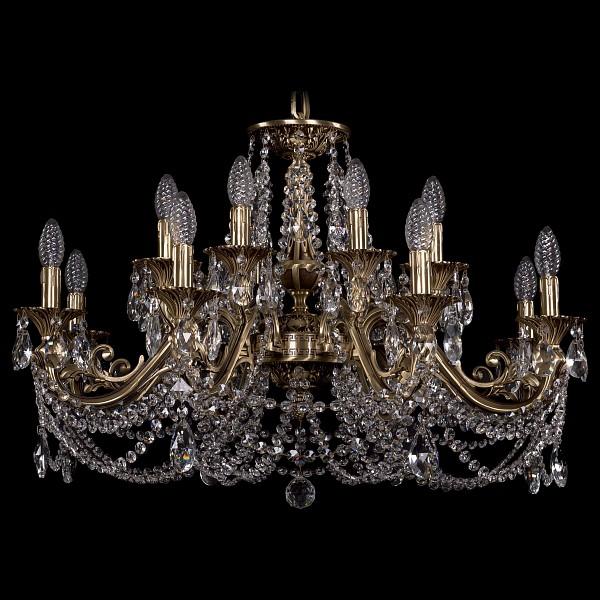 Подвесная люстра 1703/16/320/C/FP Bohemia Ivele Crystal  (BI_1703_16_320_C_FP), Чехия