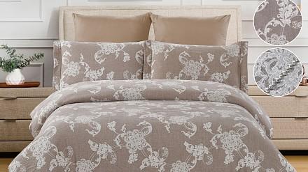 Постельное белье евростандарт Cotton Jacquard