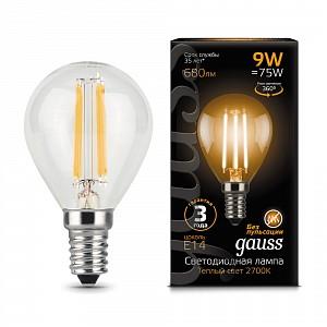 Лампа светодиодная 1058 E14 150-265В 9Вт 2700K 105801109