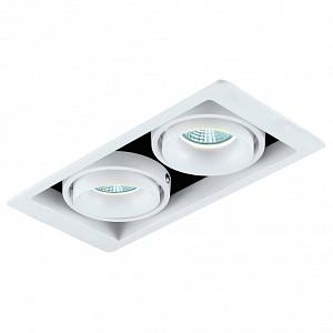 Встраиваемый светильник DL18615/02WW-SQ White/Black