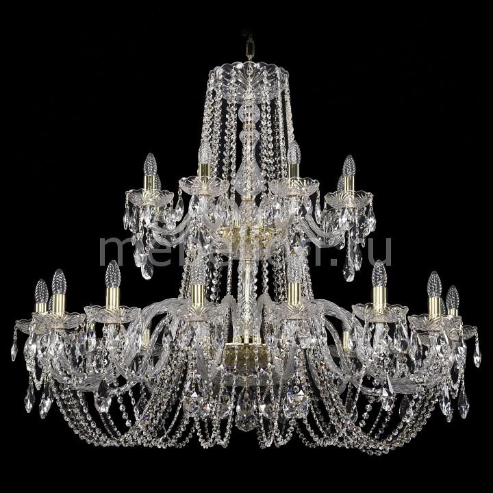 Купить Подвесная люстра 1402/16+8/400-100/2d/G, Bohemia Ivele Crystal