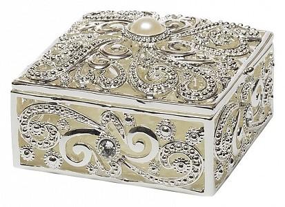 Шкатулка декоративная (7.5х7.5х4.5 см) Винтаж JB1091