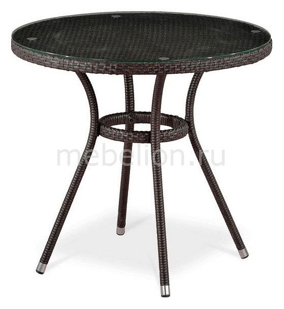 Стол Afina AFN_T283ANT-W51-D80_Brown от Mebelion.ru