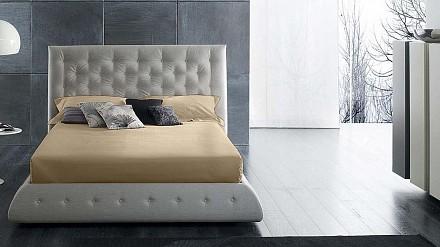 Простынь на резинке (160x200x25 см) Satin Luxe