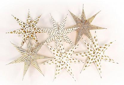 Набор из 6 елочных игрушек (20x7x20 см) Stars en_ny0068