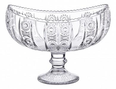 Чаша декоративная (18х10.5х14 см) Muza Crystal 195-122