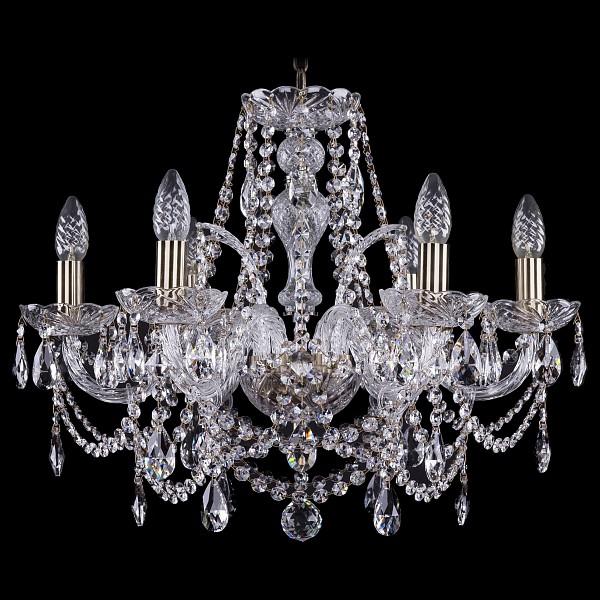 Подвесная люстра 1411/6/195/Pa Bohemia Ivele Crystal  (BI_1411_6_195_Pa), Чехия