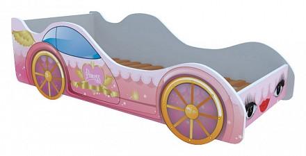 Кровать-машины Принцесса KMA_M044