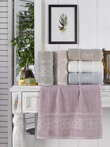 Набор из 6 банных полотенец Gokce