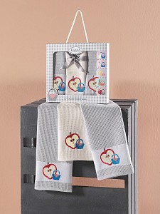 Набор из 3 полотенец для кухни (45x65 см) Panier