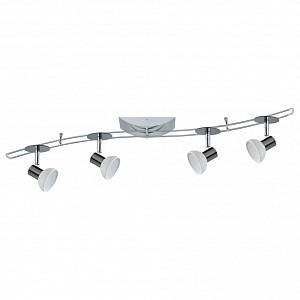 Спот поворотный Sheela, 4 лампы GU5.3 по 35 Вт., 3.25 м², цвет  матовый