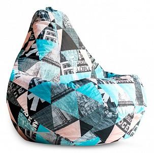 Кресло-мешок Style Жаккард L