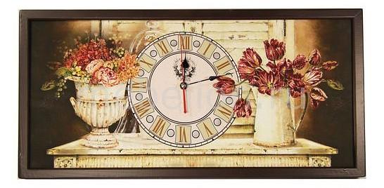 Настенные часы Акита (60х30 см) AKI 3060-1 цена