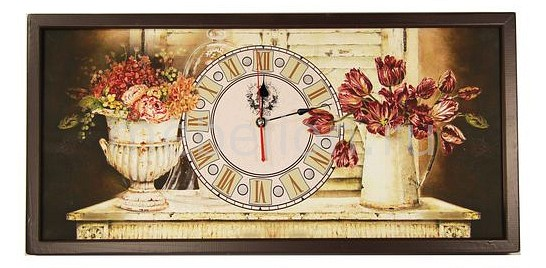 Настенные часы Акита (60х30 см) AKI 3060-1 цена и фото