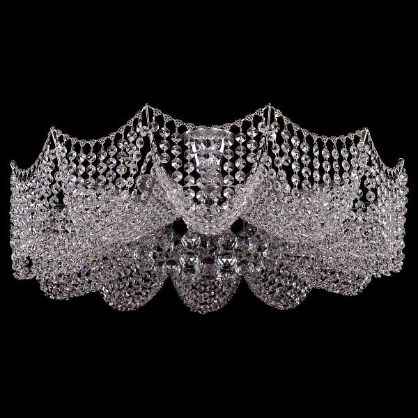 Люстра на штанге 7708/12/Ni Bohemia Ivele Crystal  (BI_7708_12_Ni), Чехия