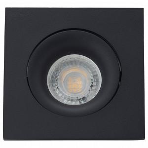 Встраиваемый светильник DK2018 DK2019-BK