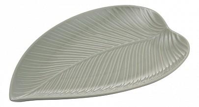 Блюдо декоративное (31.5x21.4x2.4 см) In The Forest Leaf 2002.225