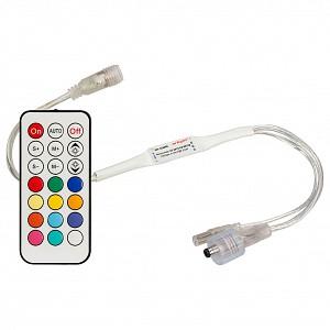 Контроллер-регулятор цвета RGBW с пультом ДУ CS-2015-CX-RF21B (1024pix, 5-24V, ПДУ 21кн)