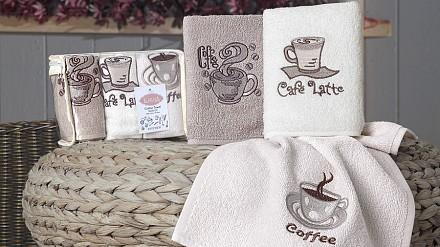 Набор из 3 полотенец для кухни Café Prima
