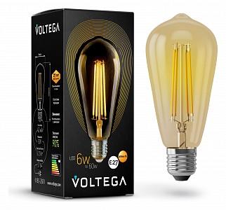Лампа светодиодная Loft Led E27 220В 6Вт 2800K 5526