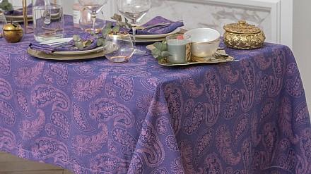 Скатерь с салфетками (135x220 см) Огурцы