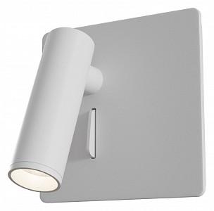 Спот поворотный Mirax, 1 лампы  по 3 Вт., 0.46 м², цвет белый матовый