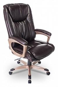 Кресло для  руководителя Бюрократ T-9914/BROWN