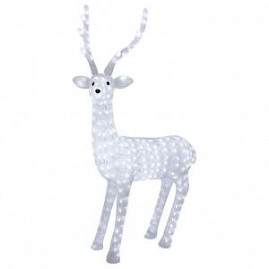 Зверь световой (13 см) Северный олень ленточкой 513-269