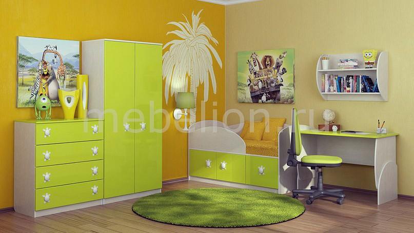 Комод детский Компасс-мебель KOM_Maugli_system_6 от Mebelion.ru