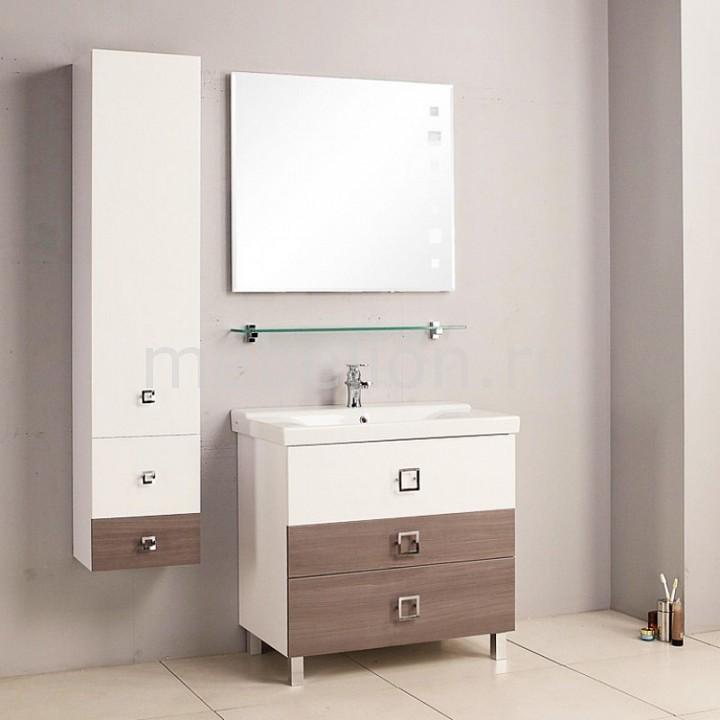 Гарнитур для ванной Акватон Стамбул 85 М лиственница