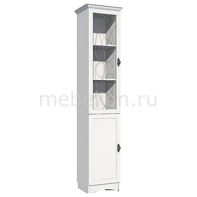 Шкаф-витрина Прованс НМ 009.08-01
