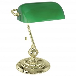 Настольная лампа декоративная BANKER 90967