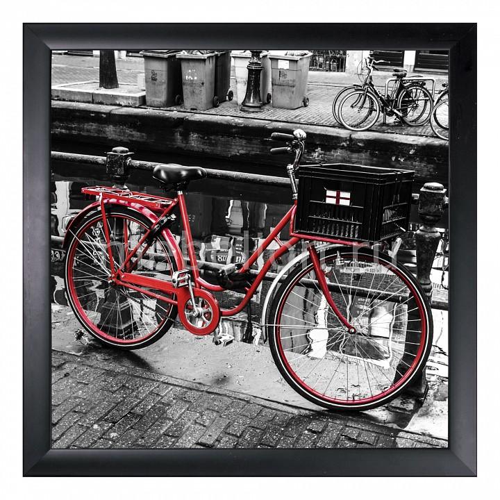 Панно Ekoramka (40х40 см) Красный велосипед 1721135 велосипед eltreco eltreco велогибрид 2018 2018