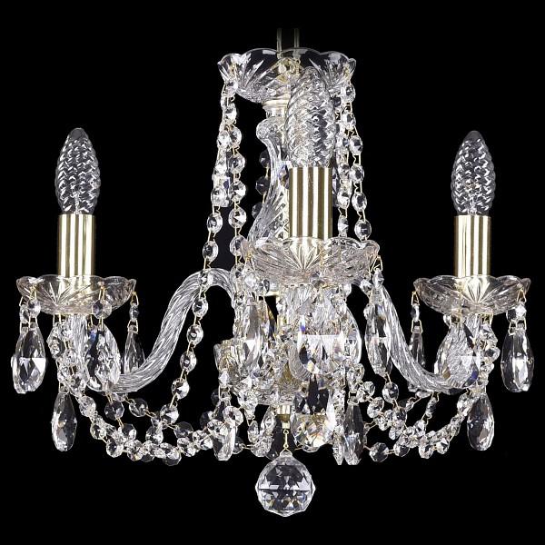 Подвесная люстра 1402/3/141/G Bohemia Ivele Crystal  (BI_1402_3_141_G), Чехия