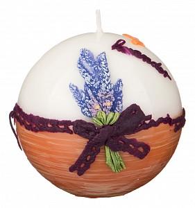 Свеча декоративная (10 см) Лаванда 348-558