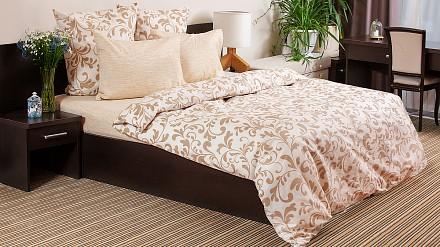 Комплект постельного белья Гжель
