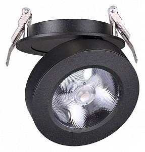 Встраиваемый светильник черного цвета Groda NV_357983