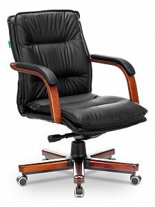 Кресло для руководителя T-9927WALNUT-LOW/BL