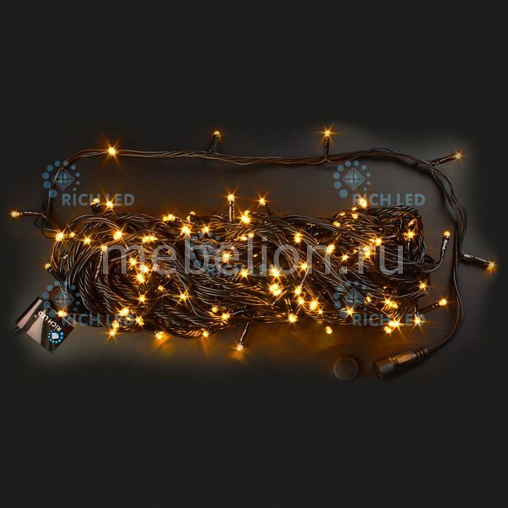 Электрогирлянда RichLED RL_RL-T20C2-B_Y от Mebelion.ru