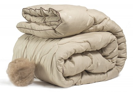 Одеяло   140x205 см. Camel wool
