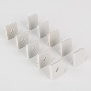 Набор из 10 заглушек для профиля с отверстием LL-2-ALP009 a042705